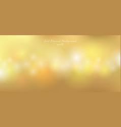 gold lights bokeh effect blurred premium vector image