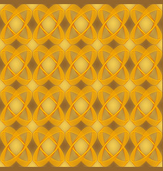 golden brocade abstract seamless background with vector image