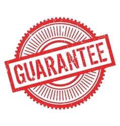 Guarantee stamp rubber grunge vector