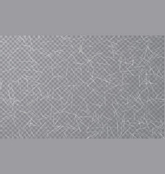 Ice texture on transparent background rink vector