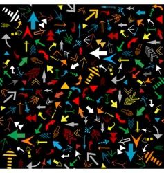 multicolored arrows seamless vector image