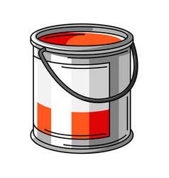 Paint can material for vector