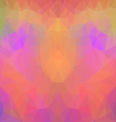 Symmetric Polygonal Pattern vector