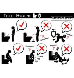 Toilet Hygiene vector