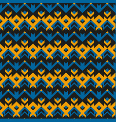 vintage cloth geometric pattern vector image