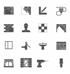 Home repair icons set vector image vector image