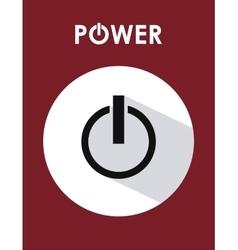 Power design illuistration vector image