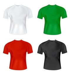 mens tshirt vector image vector image
