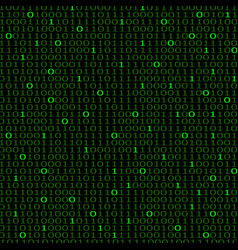 Abstract technology background with binary vector