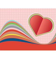 Decorative paper heart3 vector