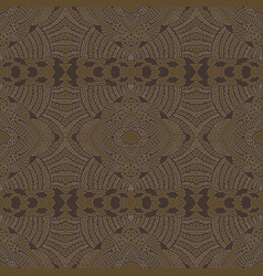 Ethnic stylized seamless pattern vector