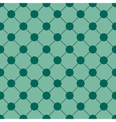 Green Polka dot Chess Board Grid Background vector