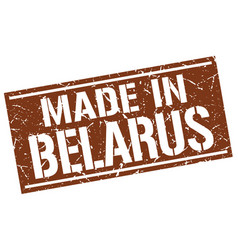 Made in belarus stamp vector