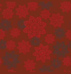 Mandala seamless ethnic motif endless vector