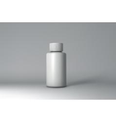 Plastic Bottle Packaging Mock-up vector