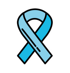 shadow awareness ribbon vector image