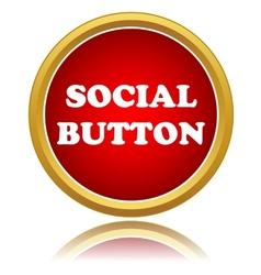 Social button vector image