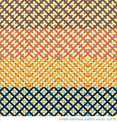 geometric ornament printed Seamless pattern vector image