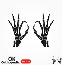 OK Orthopedic vector image vector image