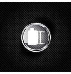 photo film in cartridge icon vector image