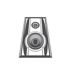 Sound Speaker Glasses Isolated on white background vector image vector image