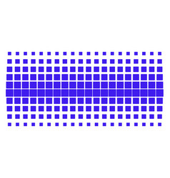 Filled square shape halftone grid vector
