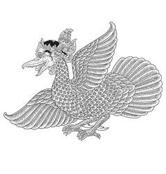 Garuda mahambira vector