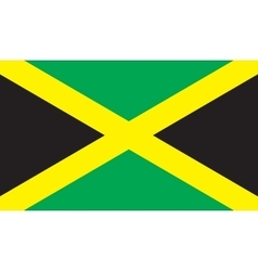 Jamaica flag image vector