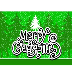 Merry Christmas And Happy New Year background Vect vector