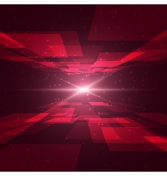 Red Space vector