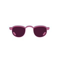 Retro sunglasses photo booth props icon vector
