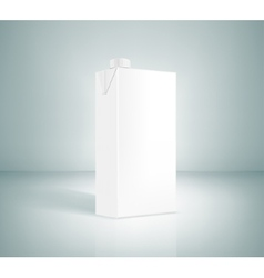 white box of juice vector image