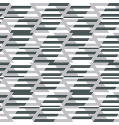 Geometric fashion print vector