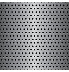 Seamless metal texture vector image