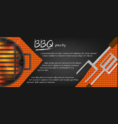 Bbq banners vector