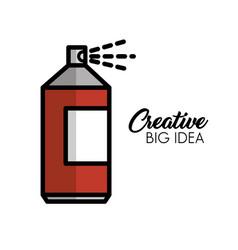 Creative big idea icons vector