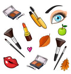 pop art style background vector image