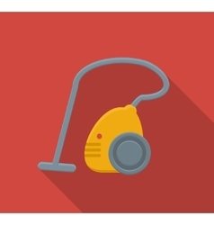 Vacuum cleaner flat icon vector image