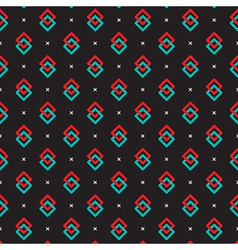 Simply Colorful Pattern vector image