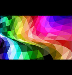 abstract background with distorted waves and vector image