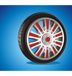 Automotive wheel vector
