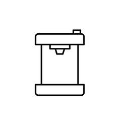 cofee machine icon vector image