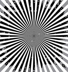 Popular ray star burst grungy grunge background vector