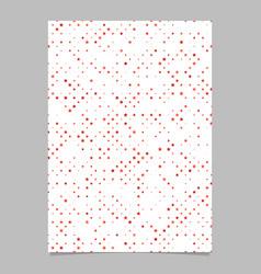 red pentagram star shape pattern background vector image
