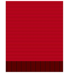 Red Wall vector image vector image