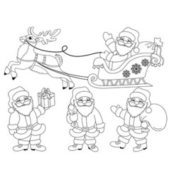 Santa Claus03 vector image