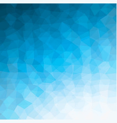 blue geometric pattern vector image