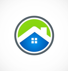 Home robusiness construction icon logo vector