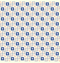 square seamless pattern eps 10 vector image