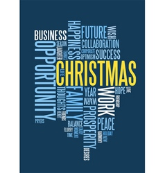 Corporate christmas card royalty free vector image christmas card vector image reheart Image collections